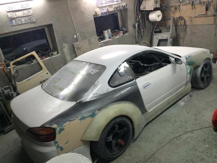Team Ghost STIHL võistlusauto uue disaini väljatöötamine