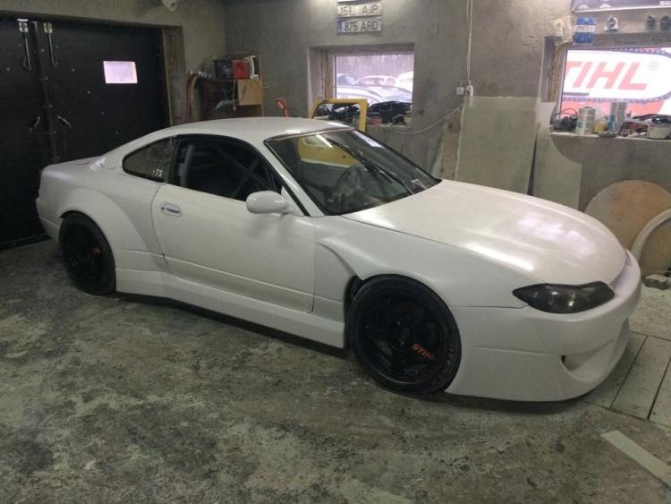 Team Ghost STIHL võistlusauto uus nägu