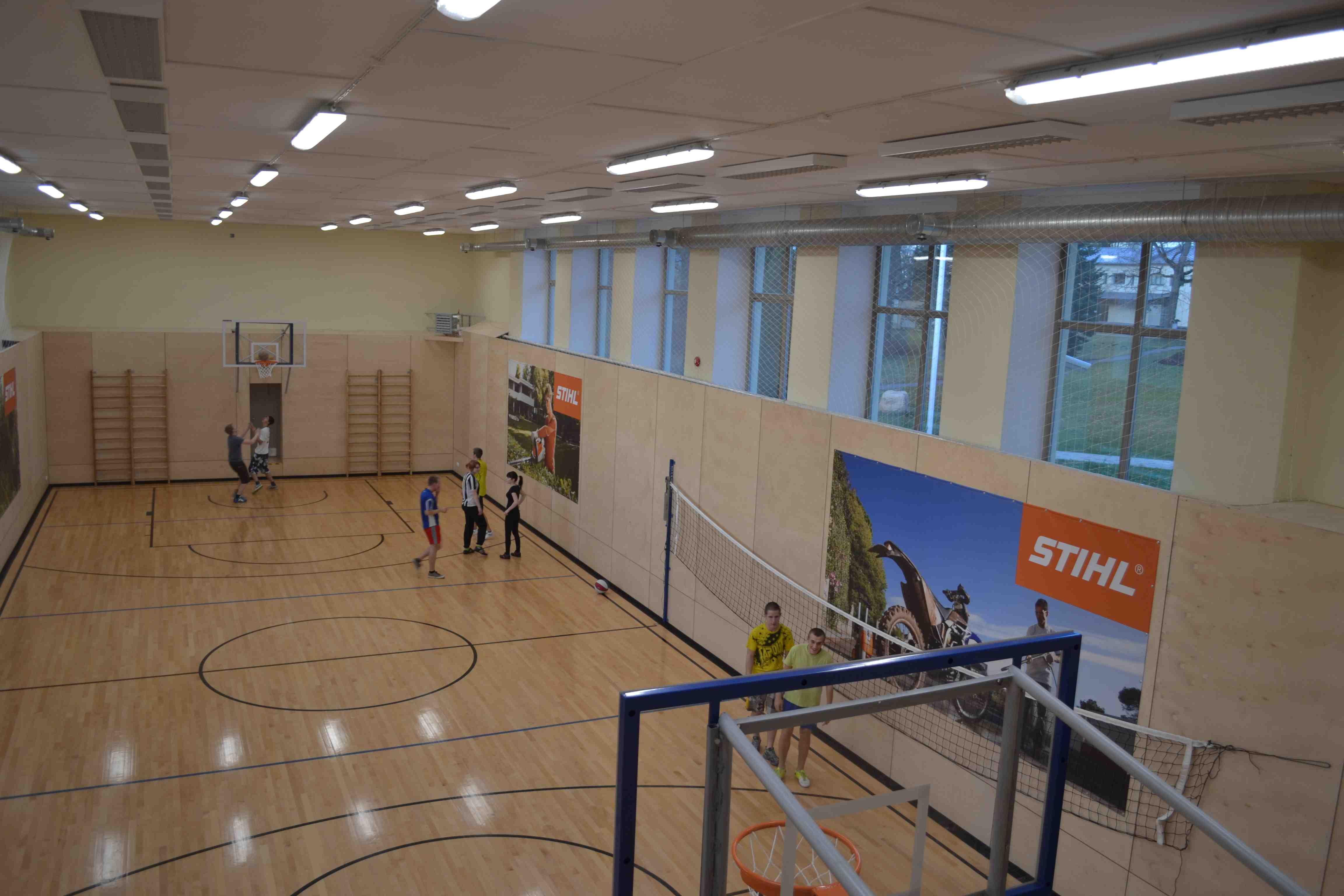 STIHL toetab sporti Luua Metsanduskoolis