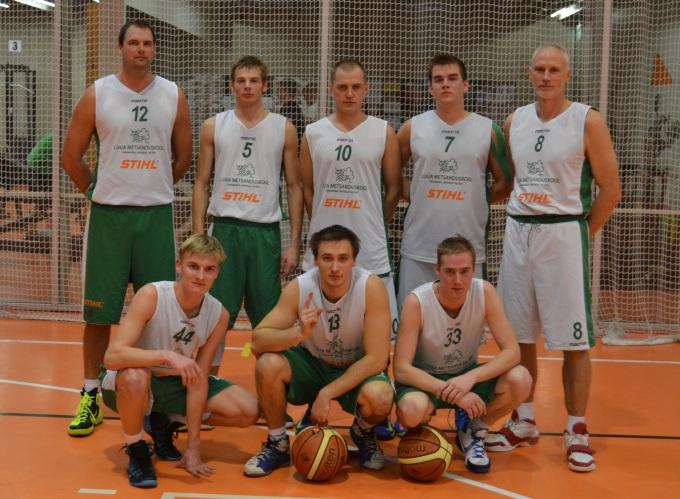 Luua STIHL korvpallivõistkond