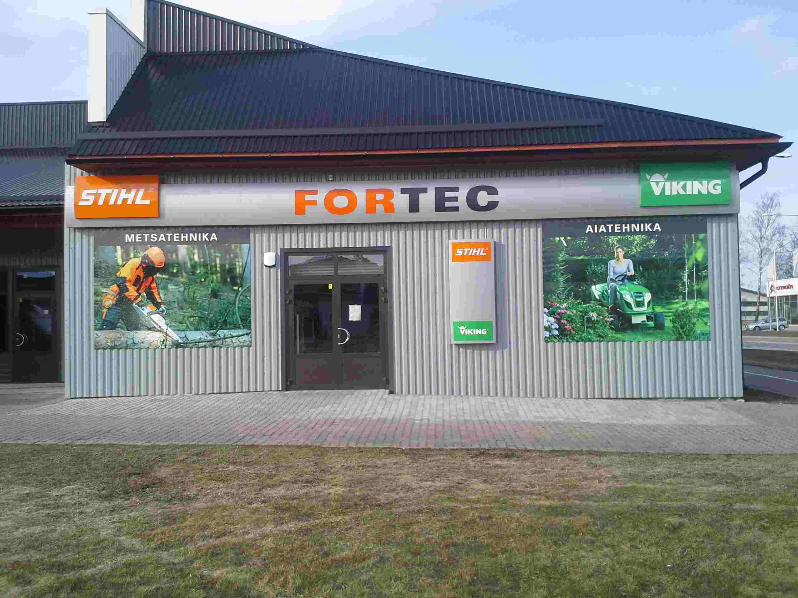 Kauplus Fortec STIHL esinduskauplus Pärnus