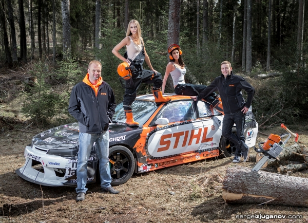STIHL & Team Ghost